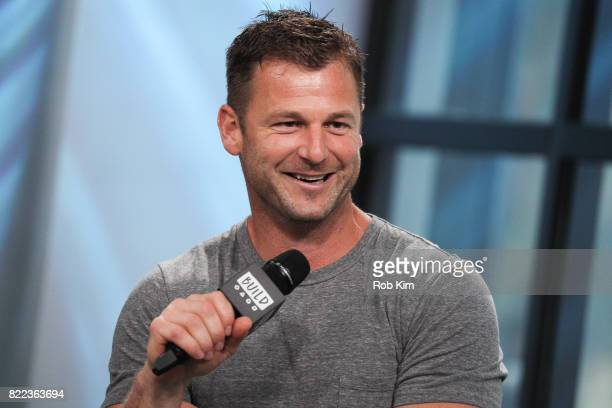 Dave Salmoni discusses Global Tiger Day and Discovery's Project CAT at Build Studio on July 25 2017 in New York City