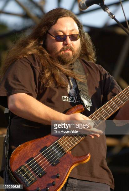Dave Schools of Widespread Panic performs during day two of the Austin City Limits Music Festival at Zilker Park on September 24, 2005 in Austin,...