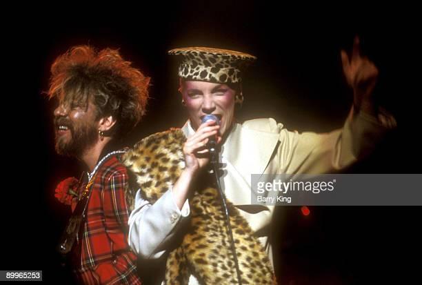 Dave Stewart and Annie Lennox of Eurythmics