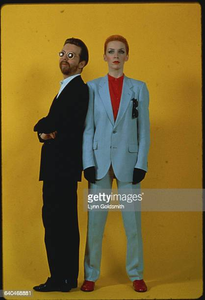 Dave Stewart and Annie Lennox of the Eurythmics