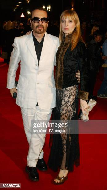 Dave Stewart and Anoushka Fisz arrives for the UK Music Hall Of Fame live final at the Hackney Empire in east London The Channel 4 series looking at...