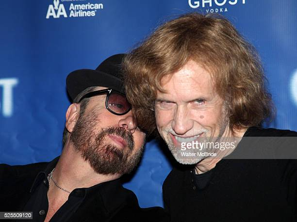 Dave Stewart Glen Ballard attending the 'Ghost the Musical' Meet Greet at the LuntFontanne Theatre in New York on 1/19/2012