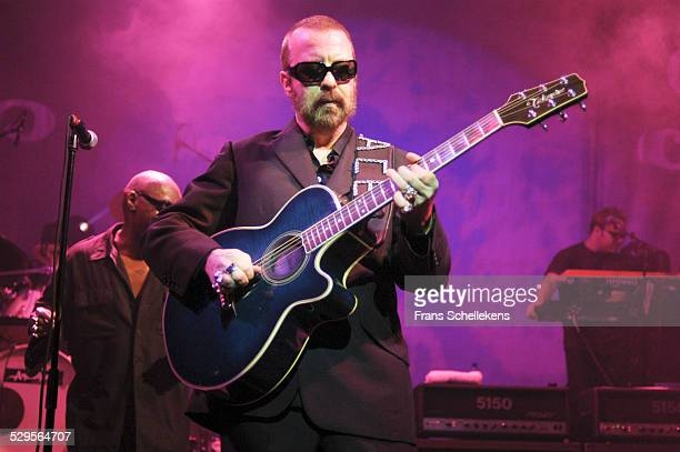 Dave Stewart, guitar, performs with DUP at the Paradiso on November 11th 2002 in Amsterdam, Netherlands.