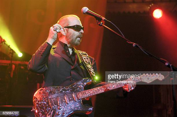 Dave Stewart guitar performs with DUP at the Paradiso on November 11th 2002 in Amsterdam Netherlands