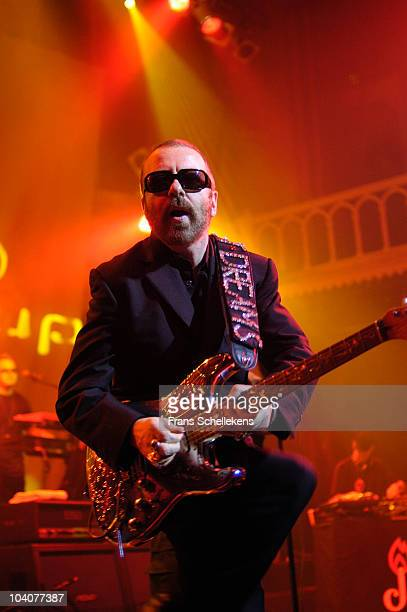 Dave Stewart performs on stage at Paradiso on November 11 2002 in Amsterdam, Netherlands.