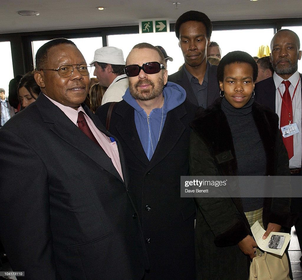 Dave Stewart, The South African Minister And Family, The Stars Of Rock And Roll Join Forces For Nelson Mandela's 46664 Concert In Cape Town, South Africa. In The Pre, Concert Build Up The Artists And Mr Mandela Travelled To The Prison On Robben Island, Where Mr Mandela Was Imprisoned For 27 Years And Was Known Simple As Prisoner 46664, South Africa Gears Up For Aids Awareness Mandela Concert 46664. The Concert Is In Association With Mtv's Staying Alive & Www.46664.com Powered By Tiscali.