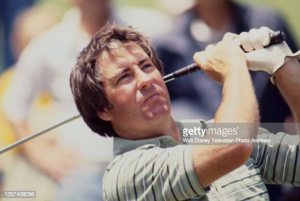 Dave Stockton competing in the 1977 PGA Tournament of Champions ABC Sports coverage
