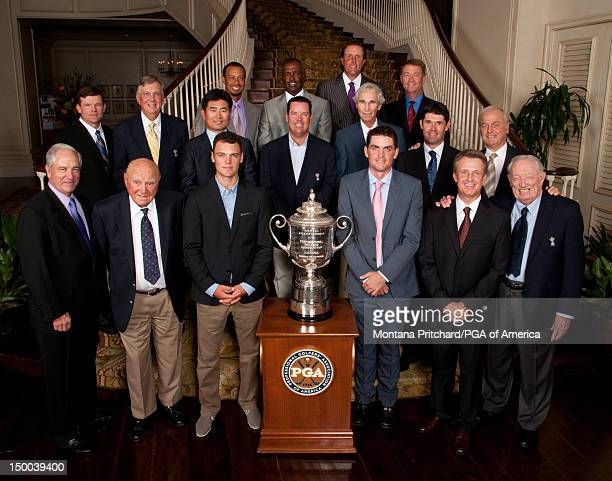 Dave Stockton Doug Ford Martin Kaymer Keegan Bradley David Toms Don January Shaun Micheel Al Geiberger YE Yang Rich Beem Hubert Green Padraig...