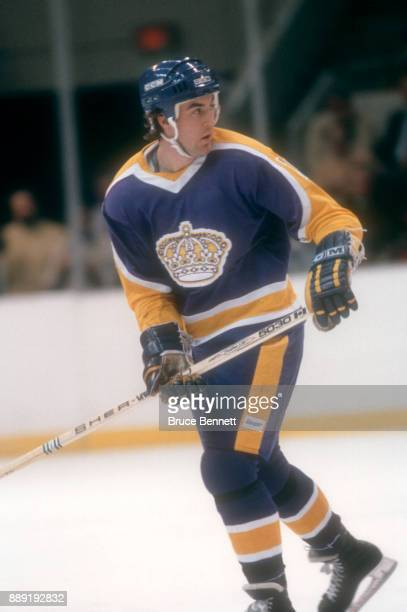 Dave Taylor of the Los Angeles Kings skates on the ice during an NHL game circa 1981