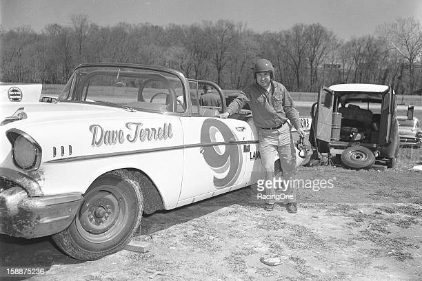 Dave Terrell of Newton PA ran 16 of the 36 NASCAR Convertible Division races driving his own 1957 Chevrolet scoring five top 10 finishes