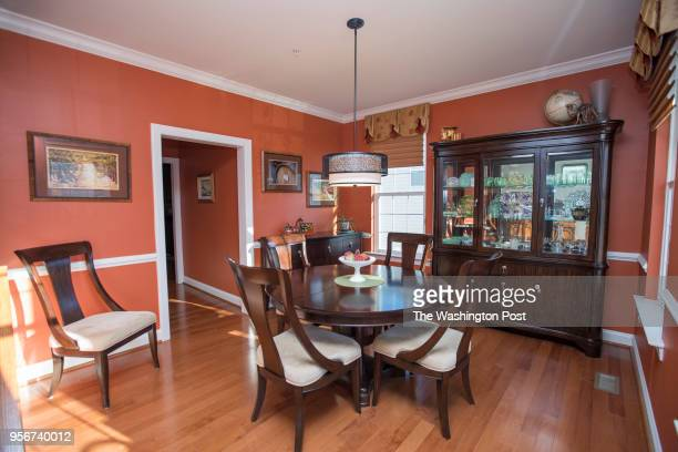 Dave Terri Van Asdlen have their dining room photographed for a redesign on Sunday November 19 2017 in Hollywood MD