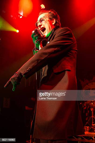 Dave Vanian of The Damned performs at O2 Academy Islington on December 20, 2015 in London, England.