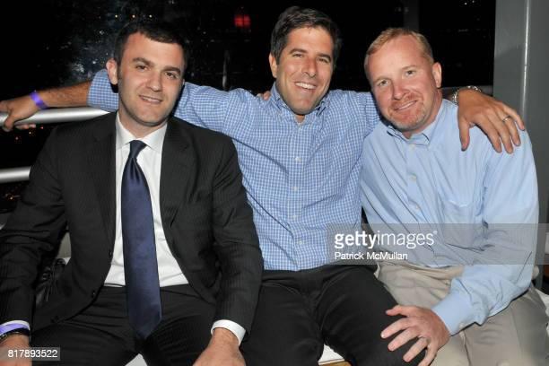 Dave Vignola Jack Torch and Dermot Sullivan attend ASSOCIATION to BENEFIT CHILDREN Junior Committee Fundraiser at Gansevoort Hotel on September 14...