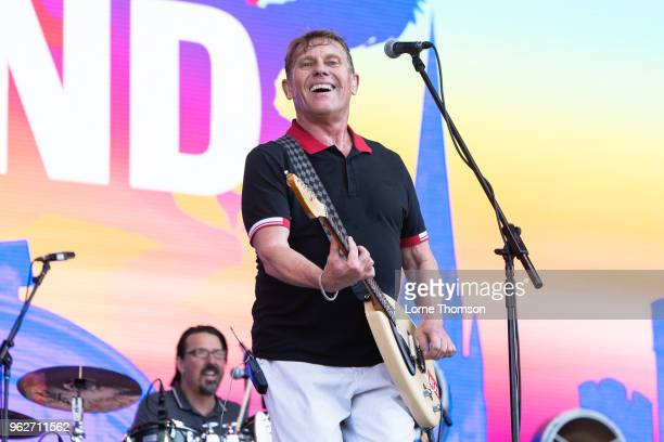 Dave Wakeling of The English Beat performs at BBC Radio The Biggest Weekend at Scone Palace on May 26 2018 in Perth Scotland