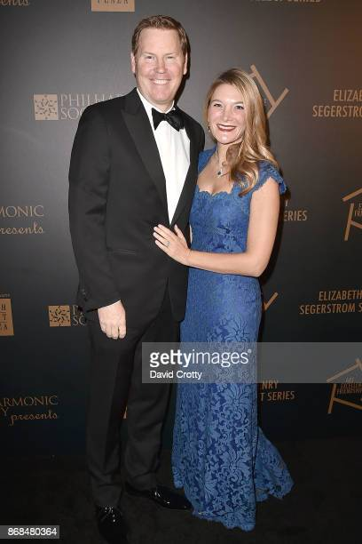 Dave Warner and Janine Warner attend the Mariinsky Orchestra Concert in honor of Henry Segerstrom and the 50th anniversary of South Coast Plaza on...