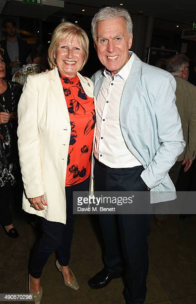 Dave Willetts and wife Lyn attend the press night of Pure Imagination The Songs of Leslie Bricusse at the St James Theatre on September 29 2015 in...