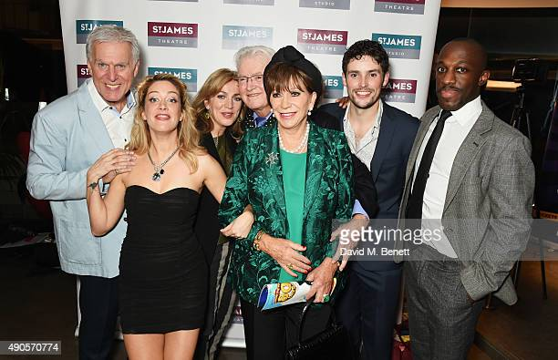 Dave Willetts Julie Atherton Siobhan McCarthy Leslie Bricusse Yvonne Romain Niall Sheehy and Giles Terera attend the press night of Pure Imagination...
