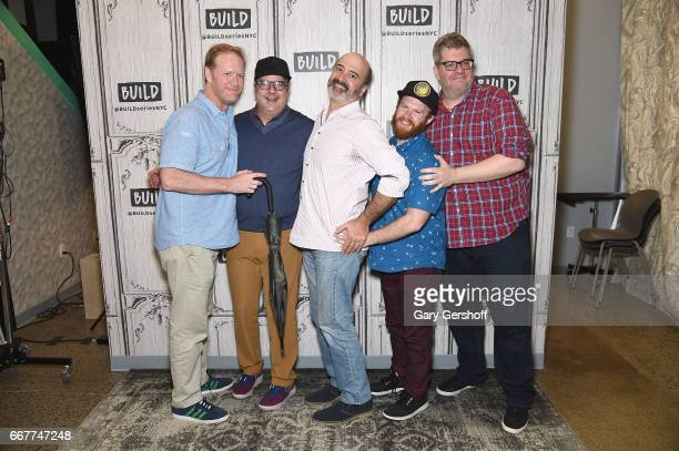 Dave Willis Dana Snyder Matt Servitto Henry Zebrowski and Casper Kelly attend Build Series to discuss the series Your Pretty Face is Going to Hell at...