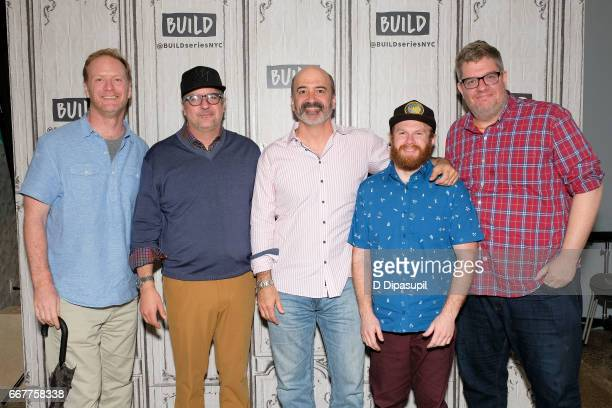 Dave Willis Dana Snyder Matt Servitto Henry Zebrowski and Casper Kelly attend the Build Series to discuss Your Pretty Face is Going to Hell at Build...