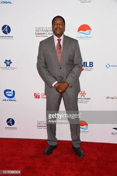 Dave Winfield attends the 18th Annual Harold and Carole Pump Foundation Gala at The Beverly Hilton Hotel on August 10 2018 in Beverly Hills California