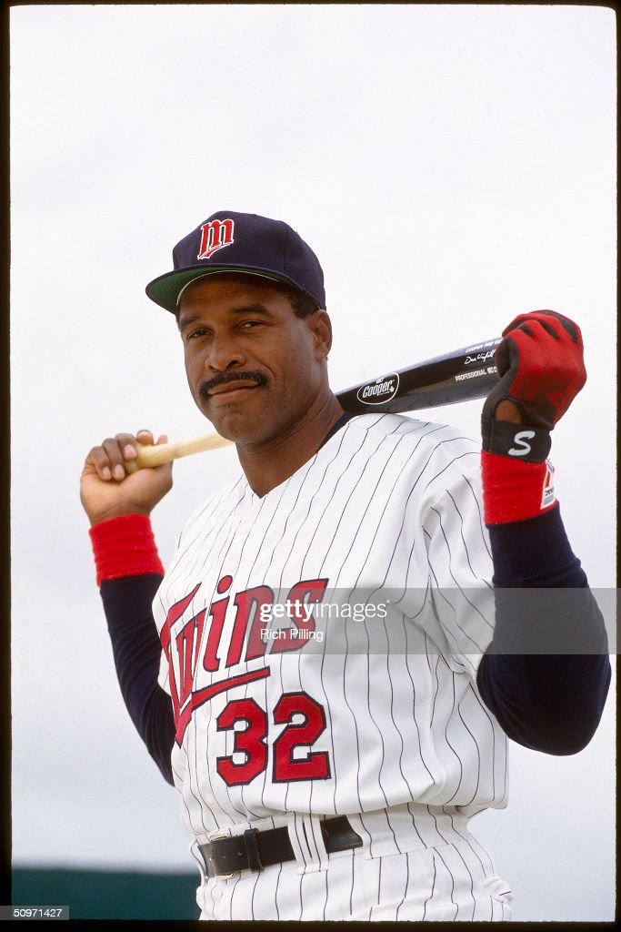 Dave Winfield #32 of the Minnesota Twins poses for a portrait in 1993.