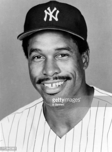 Dave Winfield of the New York Yankees poses for a portrait circa 1983 at Yankee Stadium in Bronx New York