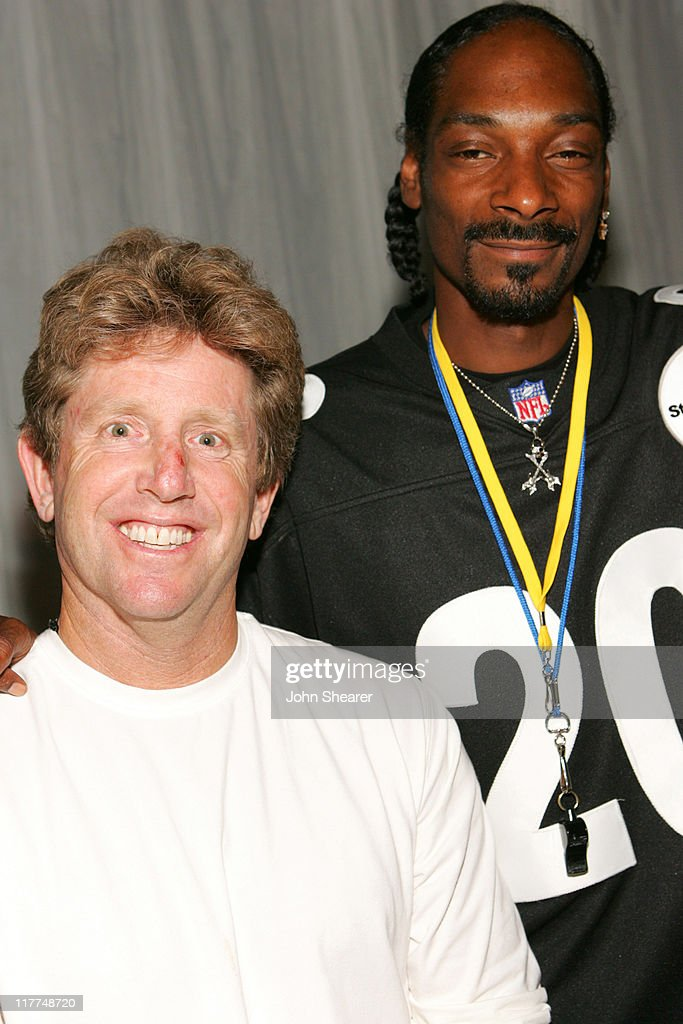 Dave Wirtschafter, President of WMA, and Snoop Dogg (Photo by John Shearer/WireImage for William Morris Agency ( WMA ))