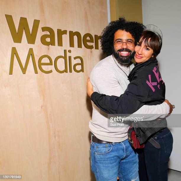 Daveed Diggs and Jackie Cruz attend the WarnerMedia and AT&T Sundance Kick-Off Party at Lateral on January 24, 2020 in Park City, Utah. 731296