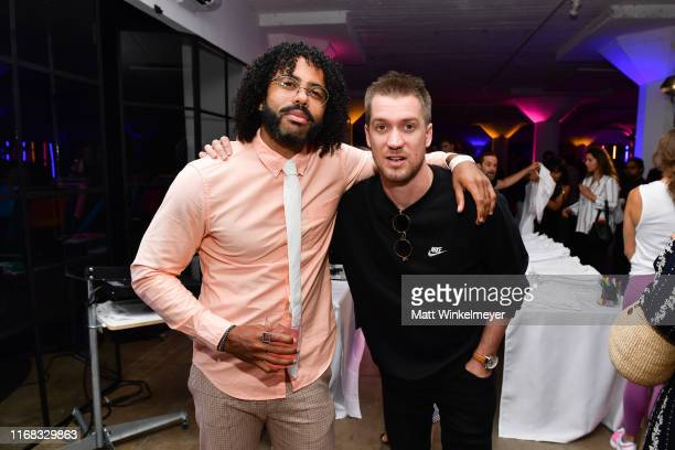 Daveed Diggs and Rafael Casal attend the premiere of Amazon Studios' Brittany Runs A Marathon on August 15 2019 in Los Angeles California