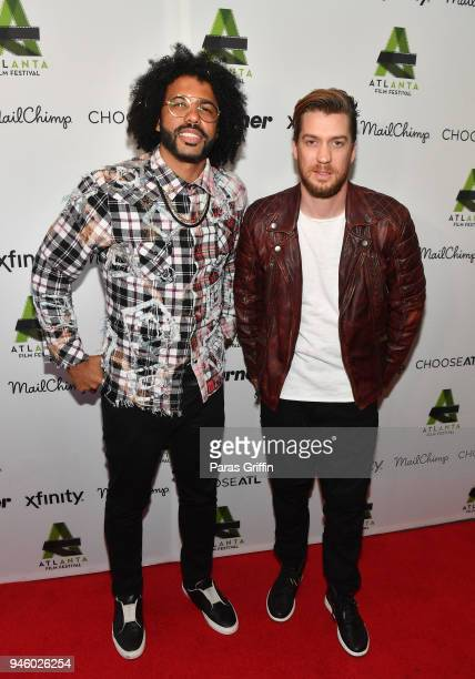 Daveed Diggs and Rafael Casal attend the screening of 'Blindspotting' during the 42nd Annual Atlanta Film Festival Opening Night on April 13 2018 at...