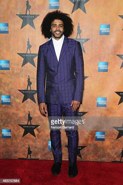 Daveed Diggs attend the 'Hamilton' Broadway Opening Night at Pier 60 on August 6 2015 in New York City
