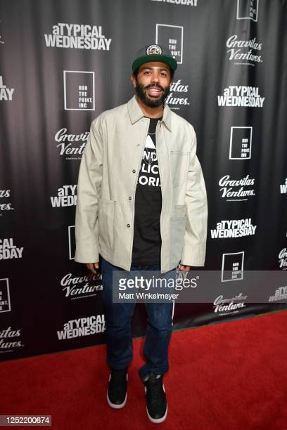 """Daveed Diggs attends """"aTypical Wednesday"""" Los Angeles Premiere at The Montalban on June 24, 2020 in Hollywood, California."""