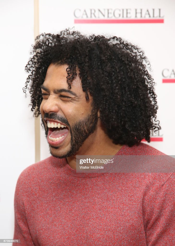 Daveed Diggs attends The Children's Monologues at Carnegie Hall on November 13, 2017 in New York City.