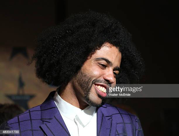 Daveed Diggs attends the 'Hamilton' Broadway Opening Night After Party at Pier 60 on August 6 2015 in New York City