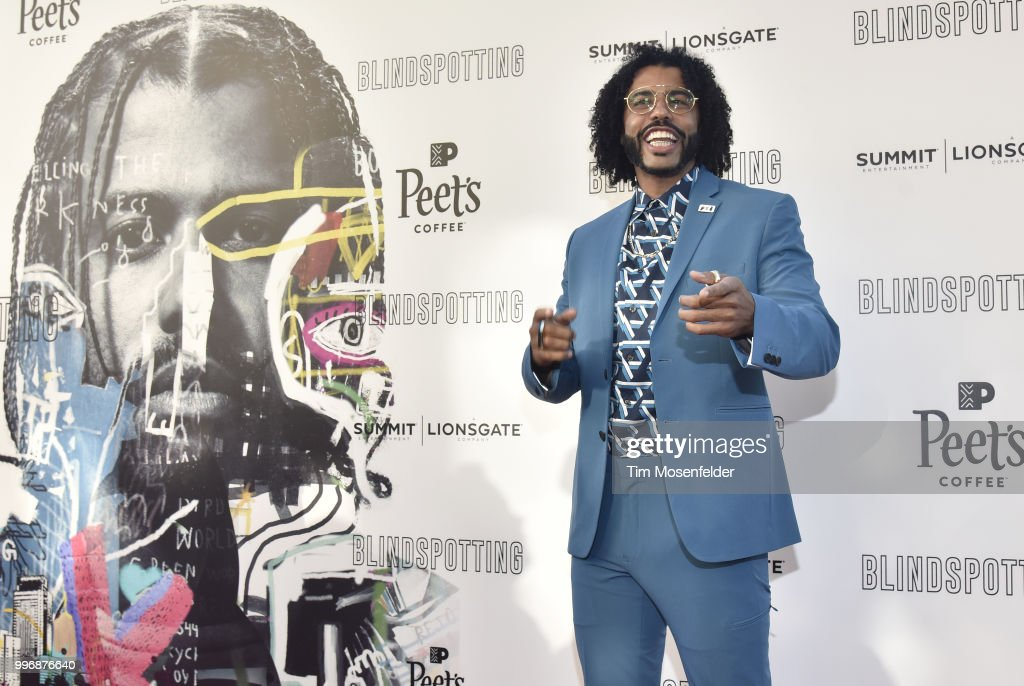 Daveed Diggs attends the premiere of Summit Entertainment's 'Blindspotting' at The Grand Lake Theater on July 11, 2018 in Oakland, California.
