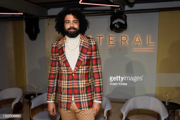 Daveed Diggs attends the TNT presents Snowpiercer Panel Reception at Lateral at WarnerMedia Lodge Elevating Storytelling with ATT during Sundance...