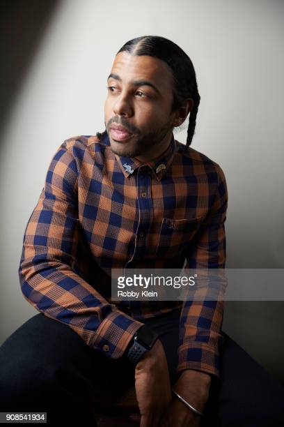 Daveed Diggs from the film 'Blindspotting' poses for a portrait at the YouTube x Getty Images Portrait Studio at 2018 Sundance Film Festival on...