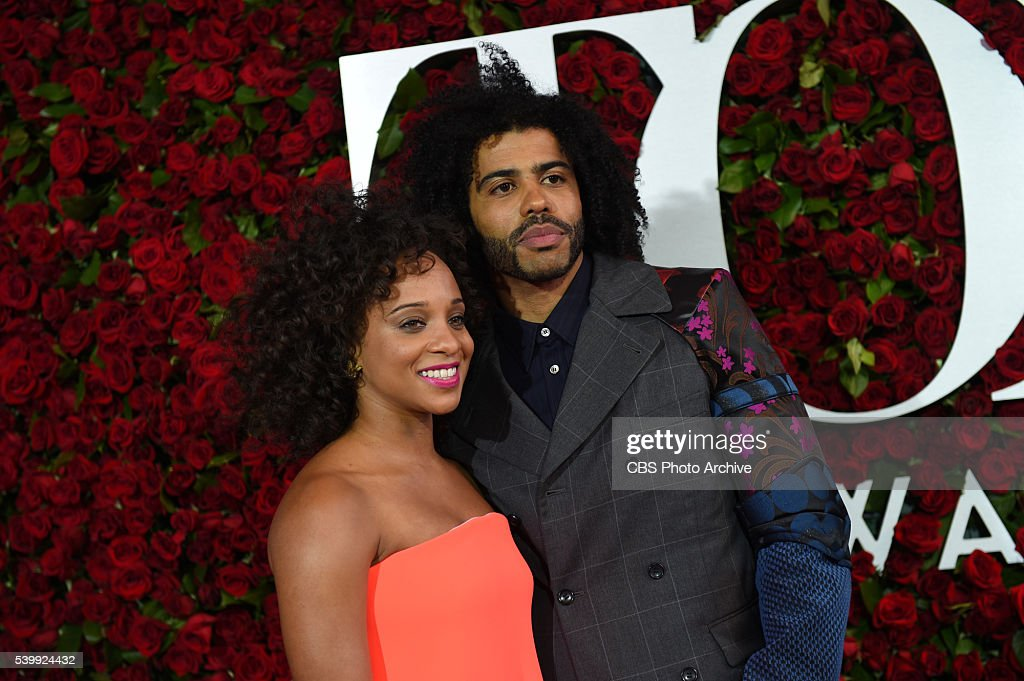 Daveed Diggs nominated for Best Performance by an Actor in a Featured Role in a Musical for Hamilton on the red carpet at THE 70TH ANNUAL TONY AWARDS, live from the Beacon Theatre in New York City, Sunday, June 12 (8:00-11:00 PM, live ET/ delayed PT) on the CBS Television Network.