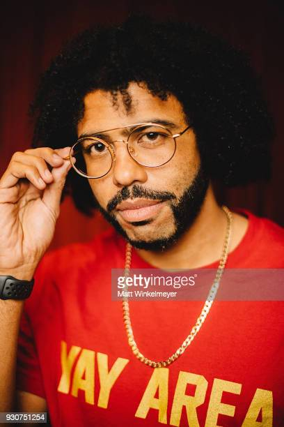 Daveed Diggs poses for a portrait at the Blindspotting Premiere 2018 SXSW Conference and Festivals at Paramount Theatre on March 11 2018 in Austin...