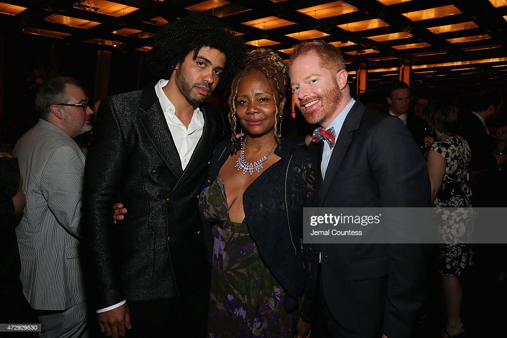 Daveed Diggs, Tonya Pinkins and Jesse Tyler Ferguson attend the 30th Annual Lucille Lortel Awards at NYU Skirball Center on May 10, 2015 in New York City.