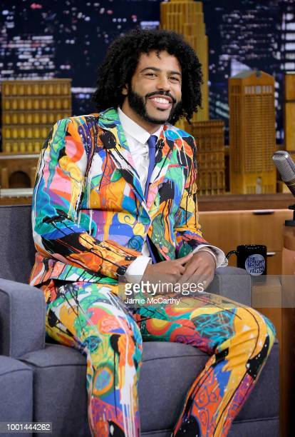 Daveed Diggs visits 'The Tonight Show Starring Jimmy Fallon' at Rockefeller Center on July 18 2018 in New York City