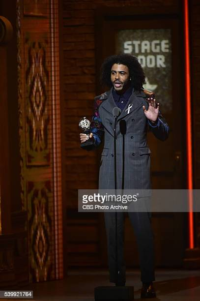 Daveed Diggs winner of Best Performance by an Actor in a Featured Role in a Musical for Hamilton at THE 70TH ANNUAL TONY AWARDS live from the Beacon...