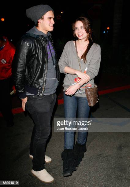 Daveigh Chase and her boyfriend sighting on December 10 2008 in West Hollywood California