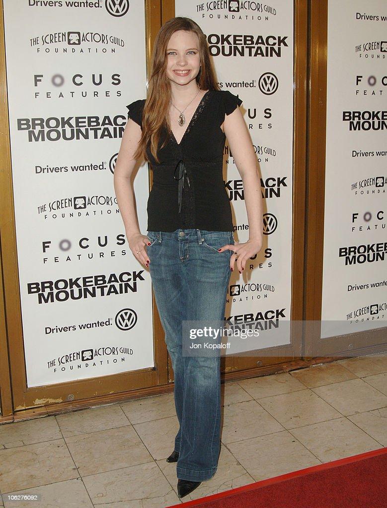 "Focus Features' ""Brokeback Mountain"" Los Angeles Premiere - Arrivals"