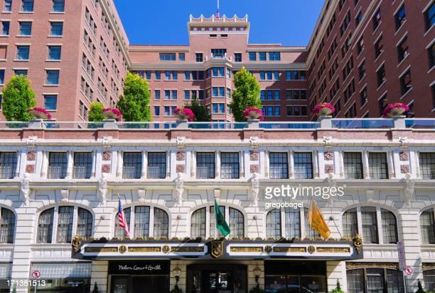 ダベンポートホテルで、ワシントン州スポーケン - スポケーン ストックフォトと画像