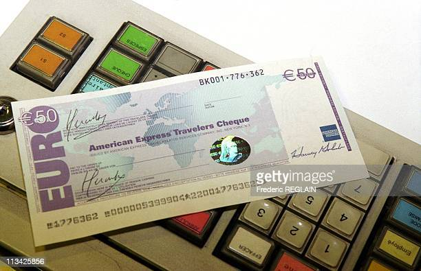 D Daversin 1 Traveler Cheque In Euro On January 4th 1999 France