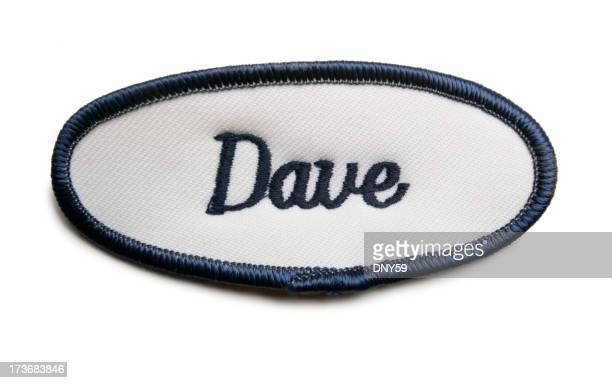 Dave's Name Tag