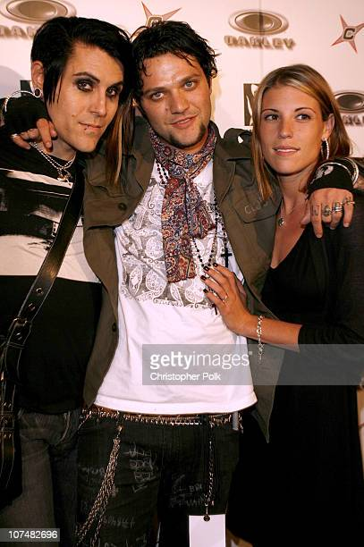 Davey Havock of AFI Bam Margera and Missy Rothstein