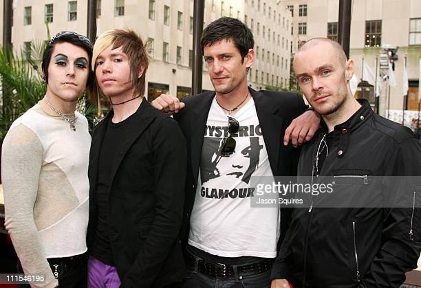 Davey Havok Jade Puget Adam Carson and Hunter Burgan of AFI