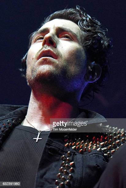 Davey Havok of AFI performs in support of the band's self titled release at the Fox Theater on January 21 2017 in Oakland California